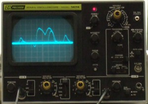 Weaker received acoustic signal