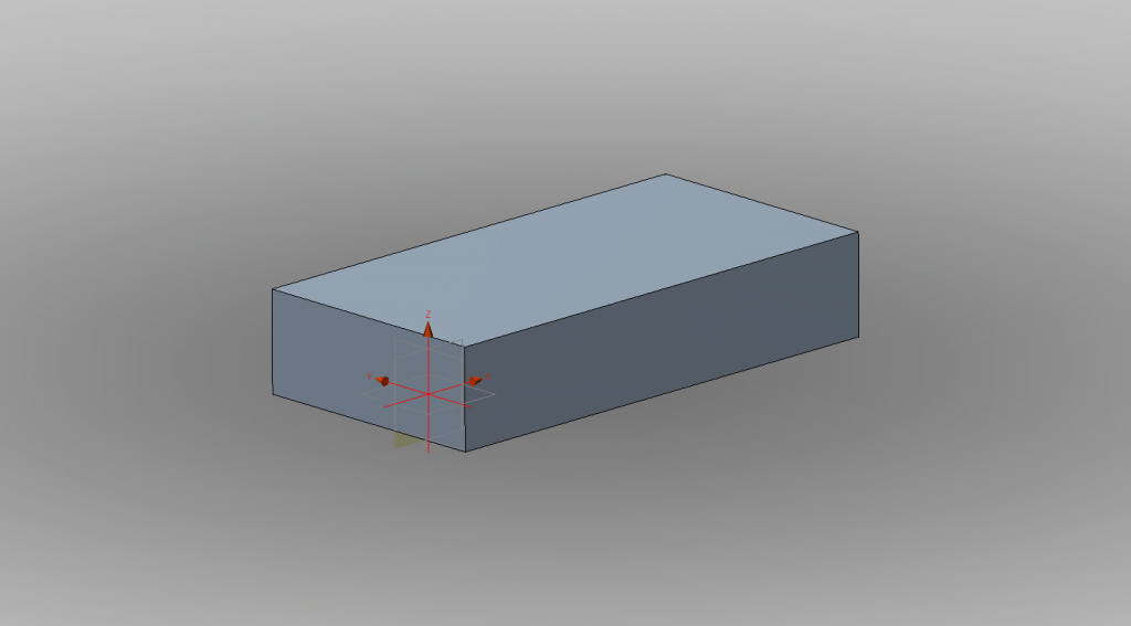 Calibration object designed in 123D.