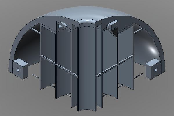 Tweaked version of the AUV model.