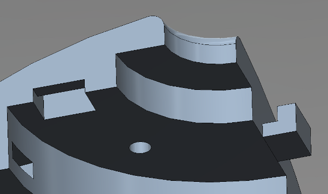 AUV hull upper assembly
